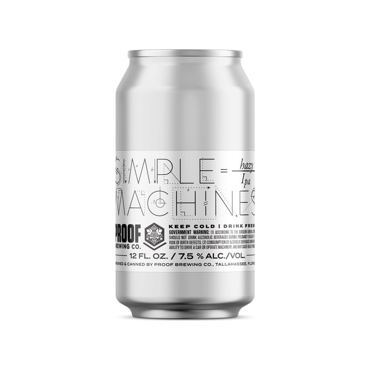 Simple Machines Hazy IPA | 4-pack - Proof Brewing Company