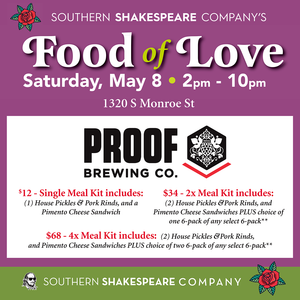 Saturday May 8th Pickup - Southern Shakespeare Meal Kit Presale