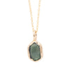 Clearing Rosecut Tourmaline Necklace