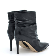 Load image into Gallery viewer, Dayana. <br> Black nappa leather ankle boots