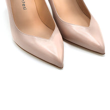 Load image into Gallery viewer, Dorina. <br> Paper pink nappa leather pumps