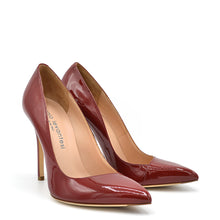 Load image into Gallery viewer, Kelly. <br> Passion red patent leather pumps