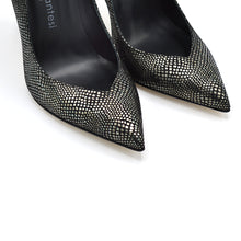 Load image into Gallery viewer, Lexy. <br> Dracena black driade leather pumps