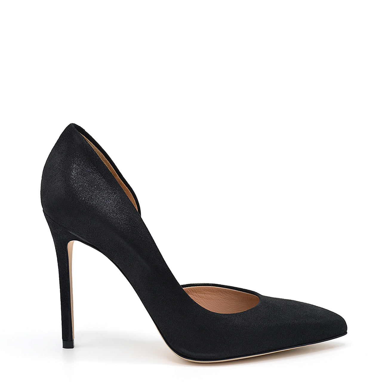 Myla. <br> Black suede pumps