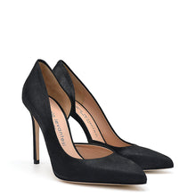 Load image into Gallery viewer, Myla. <br> Black suede pumps