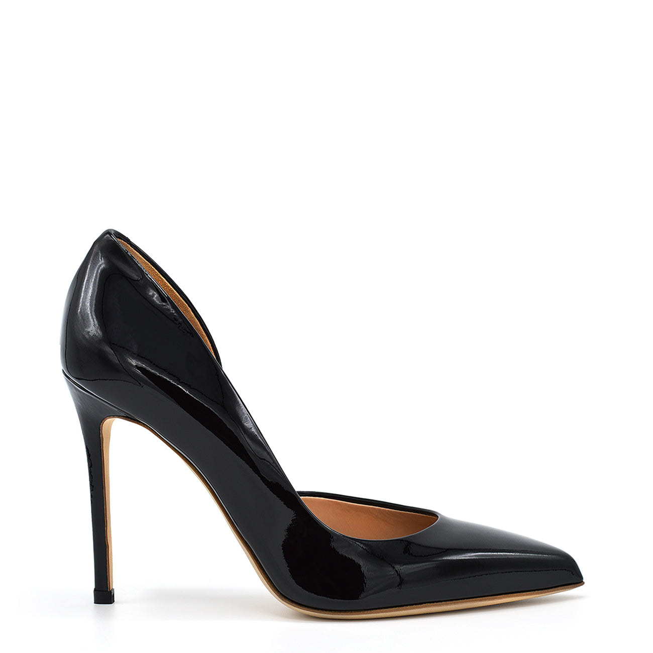 Myla. <br> Black patent leather pumps