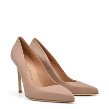 Load image into Gallery viewer, Myss. <br> Timeless natural nappa leather pumps