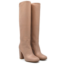 Load image into Gallery viewer, Nikyta. <br> Natural nappa leather knee-high boots