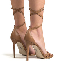 Load image into Gallery viewer, Rype. <br> Ankle strap cocco brown calfskin sandals