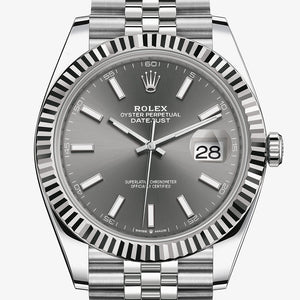 Oyster Perpetual Datejust 41 gris