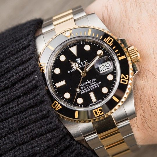 Oyster Perpetual Submariner Two-tone