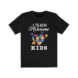 I Teach Superheroes Unisex Jersey Short Sleeve Tee