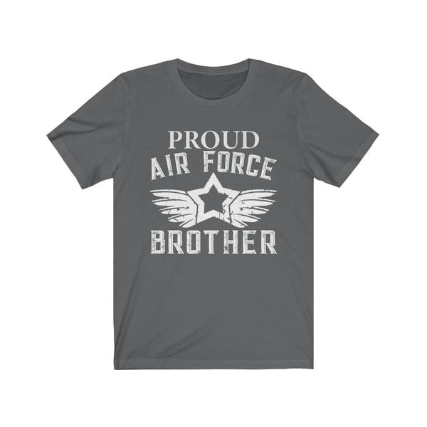 Proud Air Force Brother Jersey Short Sleeve Tee