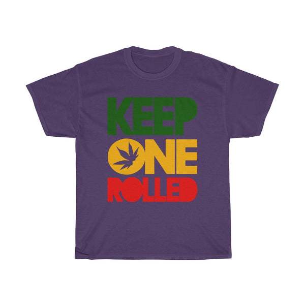 Keep One Rolled Unisex Heavy Cotton Tee