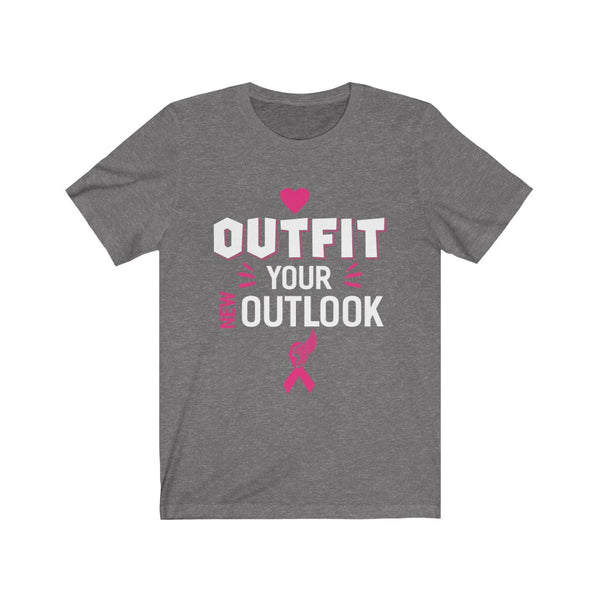 Outfit Your New Outlook Unisex Jersey Short Sleeve Tee