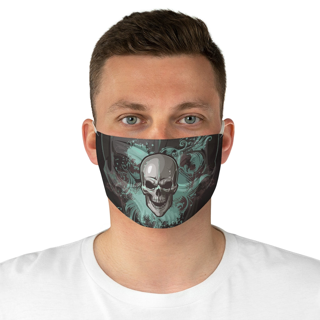 Skull Fabric Face Mask
