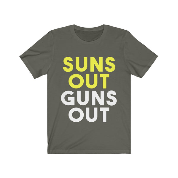 Suns Out Guns Out Tee