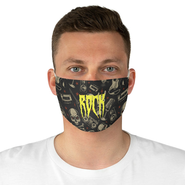 Rocking Skull Fabric Face Mask