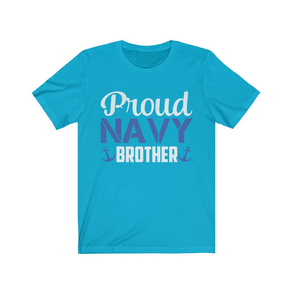 Proud Navy Brother Unisex Jersey Short Sleeve Tee