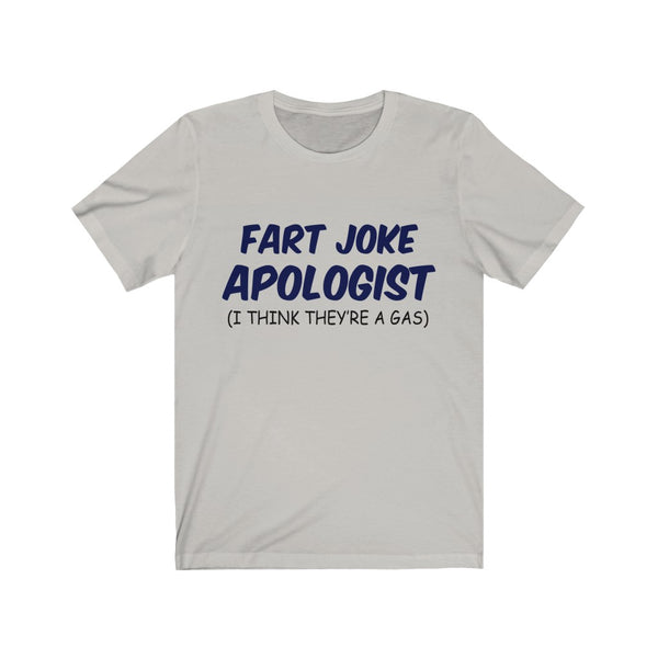 Fart Joke Apologist Jersey Short Sleeve Tee