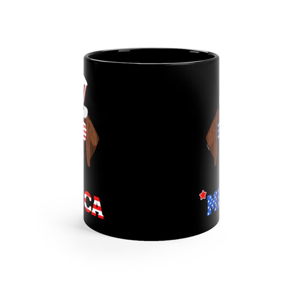 German Wiredhaired Black Mug 11oz Printify
