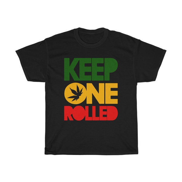 Keep One Rolled Unisex Heavy Cotton Tee Printify