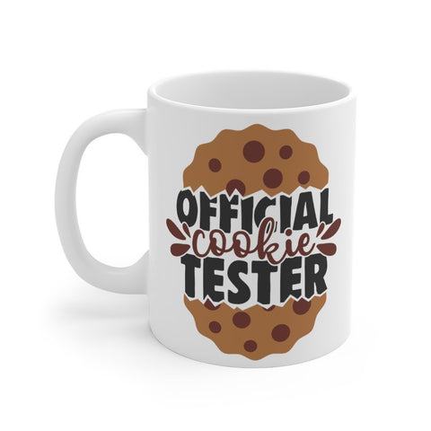 Official Cookie Tester Mug 11oz Printify