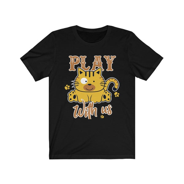 Play With Us Unisex Jersey Short Sleeve Tee Printify