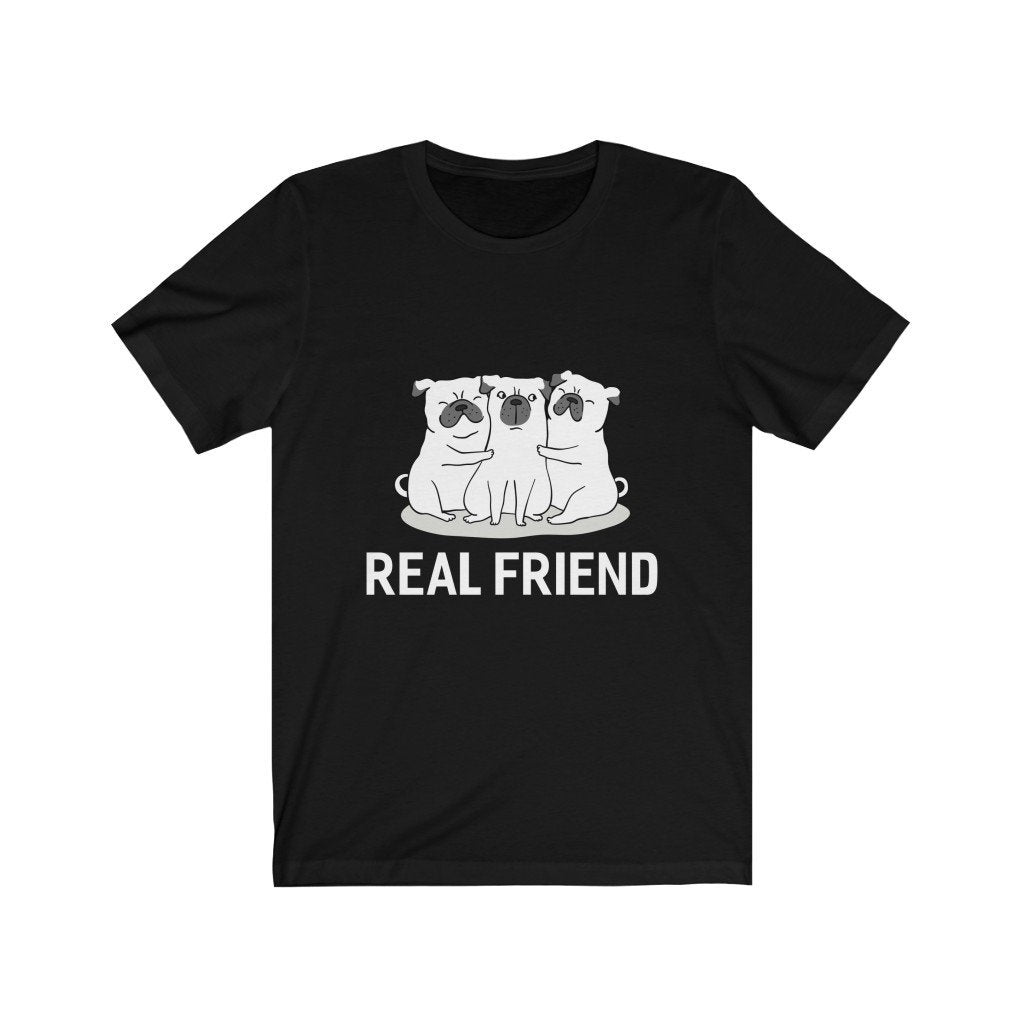 Real Friend Unisex Jersey Short Sleeve Tee Printify
