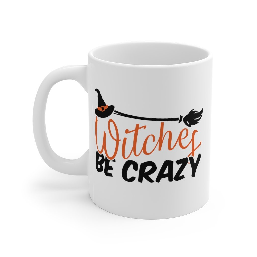 Witches Be Crazy Mug 11oz Printify