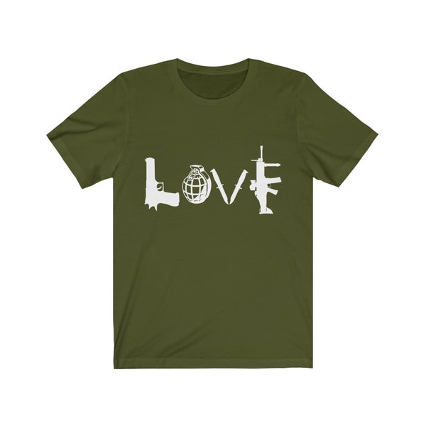 Love Guns and Grenade Tee