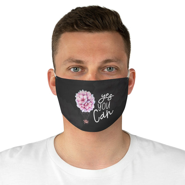 Yes You Can Fabric Face Mask