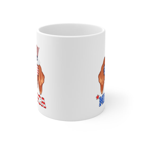 Vizsla White Ceramic Mug