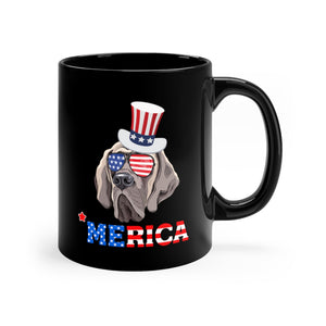 Mastiff Black Mug 11oz