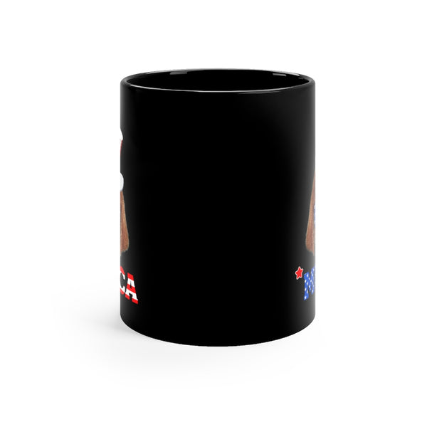 Mewfoundland Black Mug 11oz