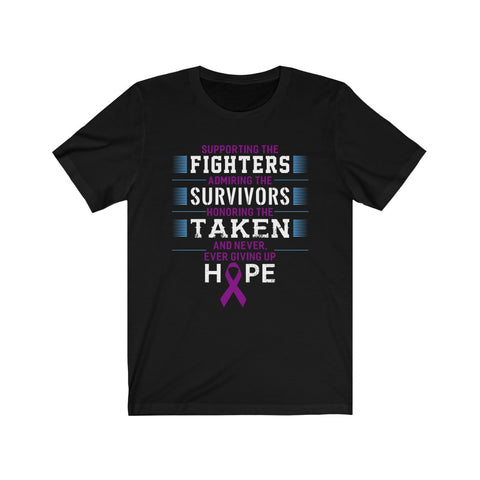 Supporting The Fighters Unisex Jersey Short Sleeve Tee