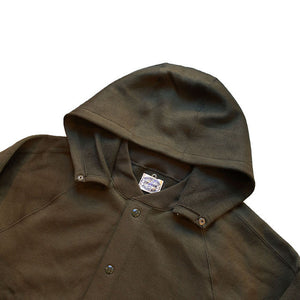 Stevenson Overall Co. Detachable Hooded Athletic Jacket - DA (Olive) [SO-DA]