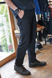 Stevenson Overall Co. Messenger FLEX 5 POCKET JEAN ブラック [SO-ME1]