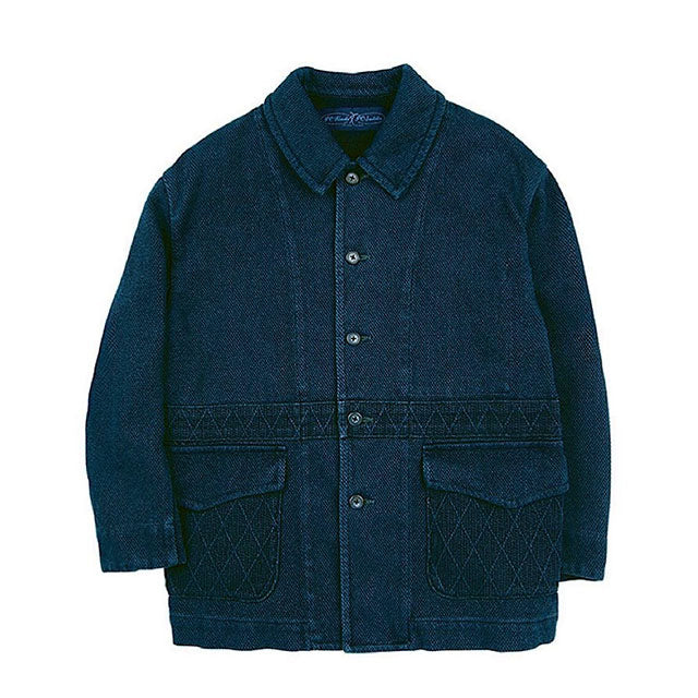 Porter Classic Kendo GENTLEMAN's JACKET NORFOLK ポータークラシック ジェントルマンズジャケット ノーフォーク (BLUE) [PC-001-1422-40-04]