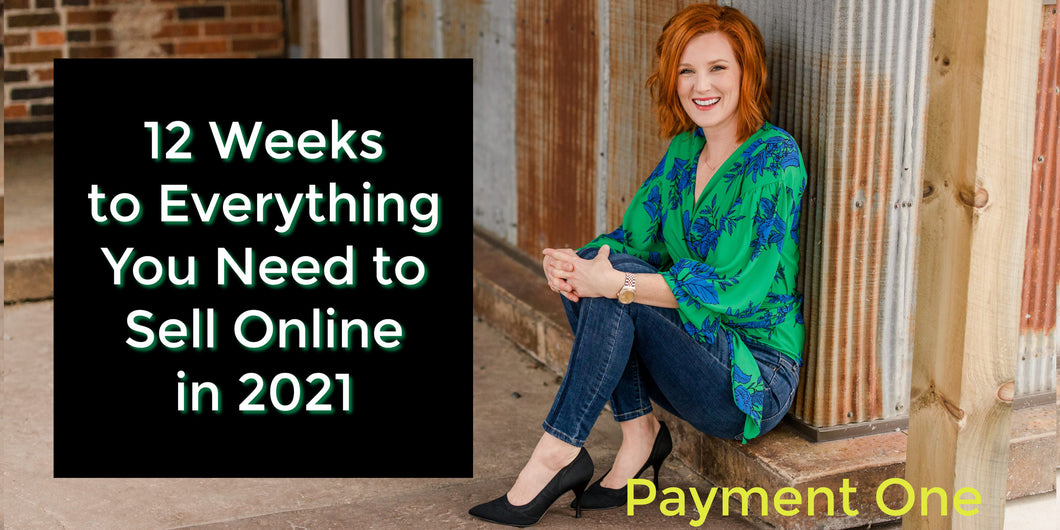 12 WEEKS 2 Payment Option Payment One