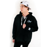 Load image into Gallery viewer, Script Hockey Hoodie