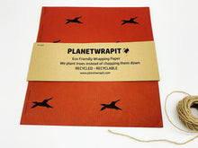 Load image into Gallery viewer, Bird of Flight Gift Wrap - Recycled Kraft Paper