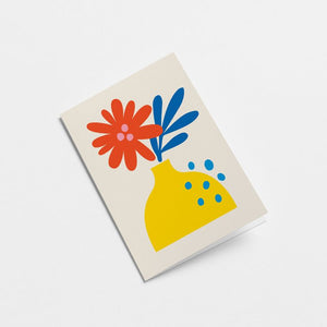 Flower Card - Blank for any message