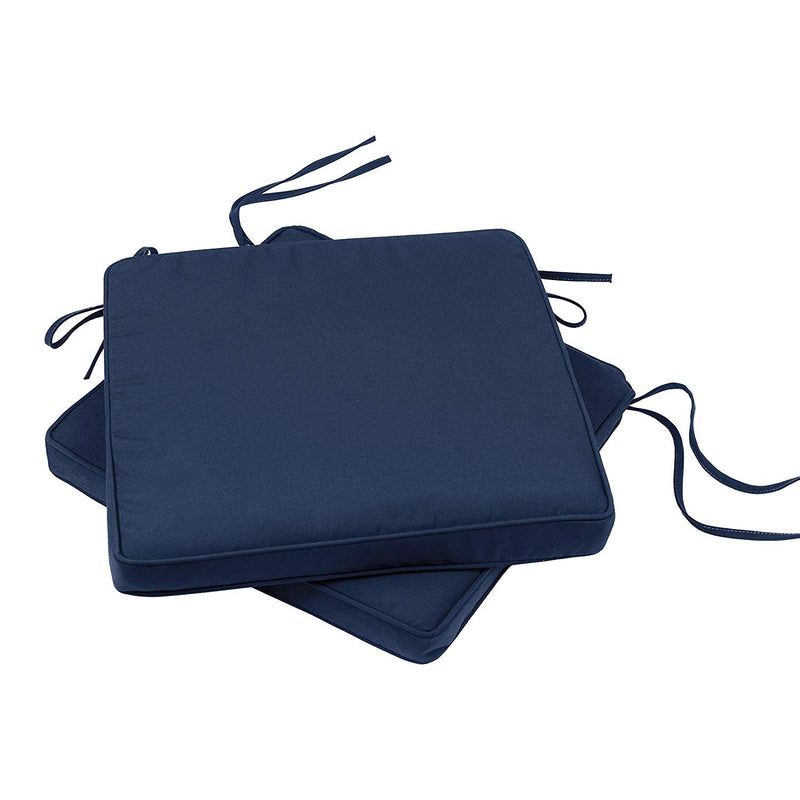 Luxury Bistro Cushions (Cool Navy)