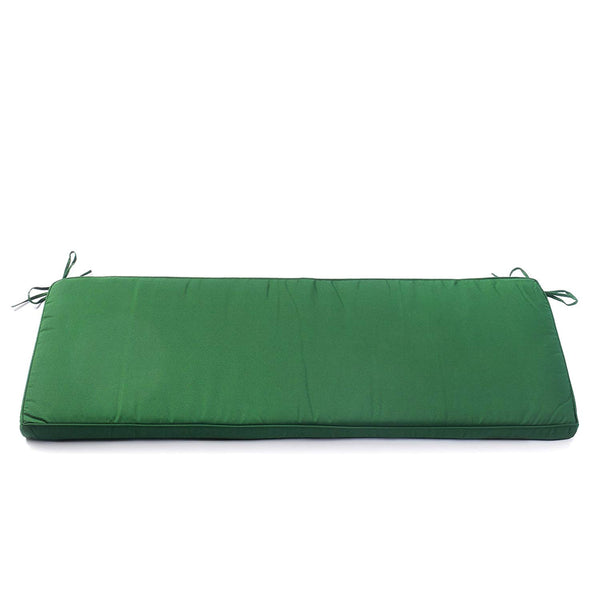 Aluminium Bench Cushion in Evergreen