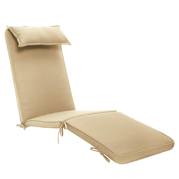 Steamer Chair Cushion (Beige)