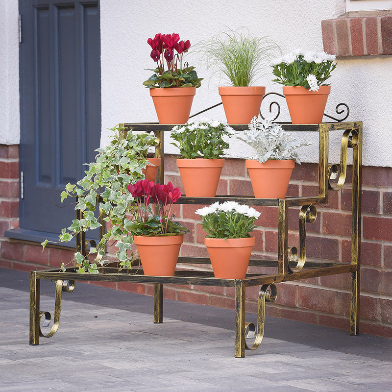 Plant Terrace in Bronze Colour