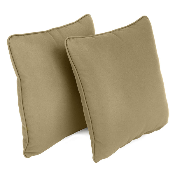 Garden Scatter Cushion in Beige, set of 2