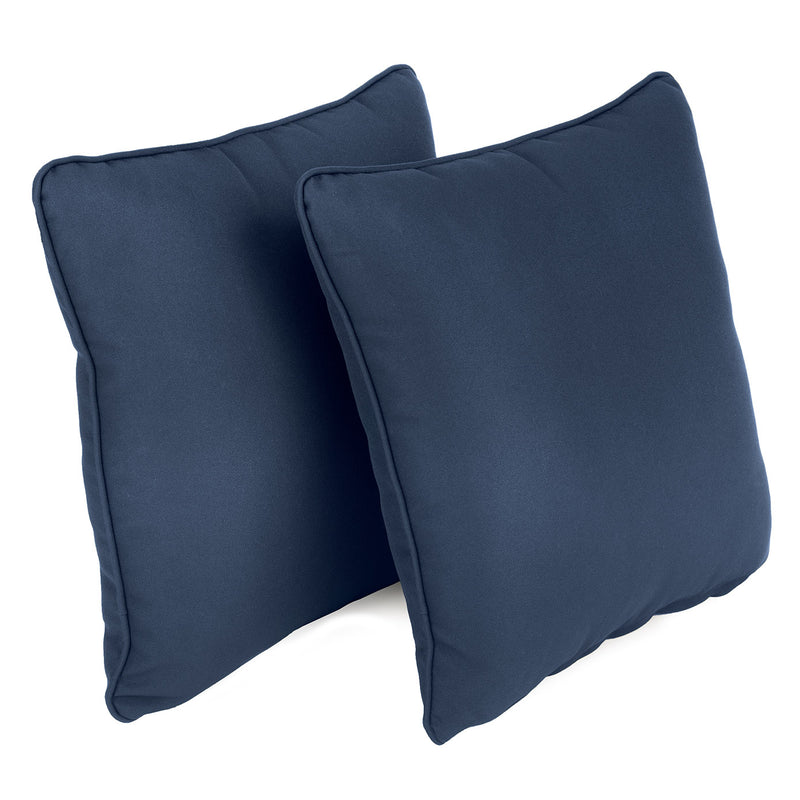 Garden Scatter Cushions Navy, set of 2