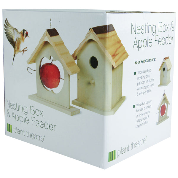 Bird Nest Box & Feeder